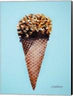 Nutty Ice Cream Cone Fine-Art Print
