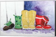 Rain Boots Fine-Art Print