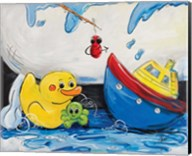 Rubber Ducky and Boat Fine-Art Print