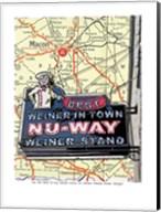 Nu Way Weiner Macon Fine-Art Print