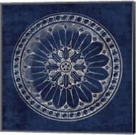 Rosette I Indigo Fine-Art Print