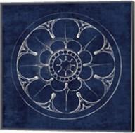 Rosette III Indigo Fine-Art Print