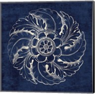 Rosette IV Indigo Fine-Art Print