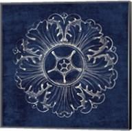 Rosette VI Indigo Fine-Art Print