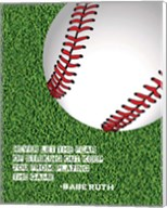 Baseball Quote Fine-Art Print