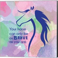 Horse Quote 14 Fine-Art Print