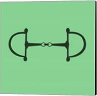 Horse Bit - Green Fine-Art Print