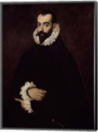 Presumed Portrait of the Duke of Benavente Fine-Art Print