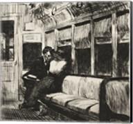 Night on the El Train, 1918 Fine-Art Print