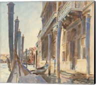Gondola Moorings on the Grand Canal, 1904/07 Fine-Art Print