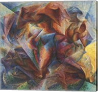 Dynamism Of A Soccer Player, 1913 Fine-Art Print