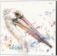 Pelicans About Fine-Art Print