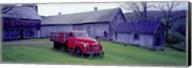Red Vintage Pickup Fine-Art Print