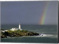Rainbow over Fanad-Head, Ireland Fine-Art Print