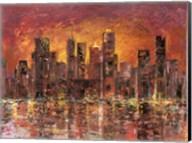 Sunset in New York Fine-Art Print