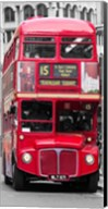 Double-Decker Bus, London Fine-Art Print