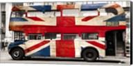 Union Jack Double-Decker Bus, London Fine-Art Print