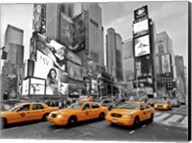 Taxis in Times Square, NYC Fine-Art Print
