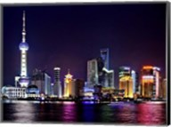 Shanghai at Night Fine-Art Print