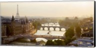 Bridges over the Seine River, Paris Fine-Art Print