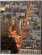 Aerial View of Flatiron Building, NYC Fine-Art Print