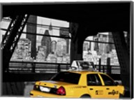 Taxi on the Queensboro Bridge, NYC Fine-Art Print