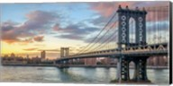 Manhattan Bridge at Sunset, NYC Fine-Art Print