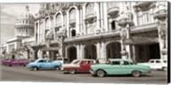 Vintage American Cars in Havana, Cuba Fine-Art Print