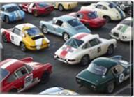 Vintage sport cars at Grand Prix, Nurburgring Fine-Art Print
