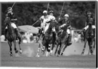 Polo players, New York Fine-Art Print