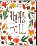 Harvest Time Happy Fall Fine-Art Print