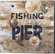 Fishing Pier Fine-Art Print