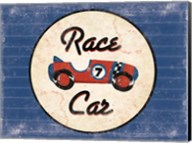 Race Car Blues Fine-Art Print