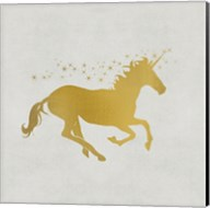 Unicorn Gold 1 Fine-Art Print