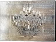 Silver Gold Chandelier Fine-Art Print