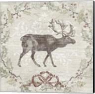 Cabin Christmas V Fine-Art Print