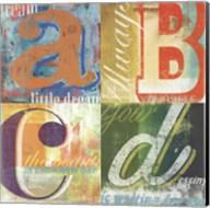 ABCD Fine-Art Print