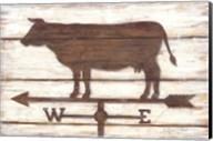 Farmhouse Cow Fine-Art Print