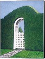 Topiary Gateway Fine-Art Print