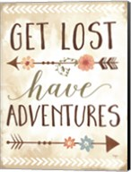 Get Lost, Have Adventures Fine-Art Print