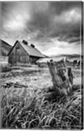 Stormy Barn Fine-Art Print