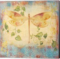 Aqua Dreams Dragonfly Fine-Art Print