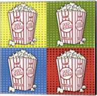 Popcorn Pop Art II Fine-Art Print