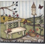A Garden Restores The Soul Fine-Art Print