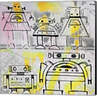 Robot Family Fine-Art Print