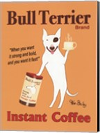 Bull Terrier Instant Coffee Fine-Art Print