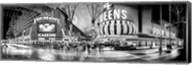 Fremont Street at night, Las Vegas, Clark County, Nevada Fine-Art Print