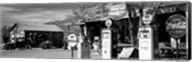 Store with a gas station on the roadside, Route 66, Hackenberry, Arizona Fine-Art Print