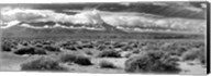 Death Valley landscape, Panamint Range, Death Valley National Park, Inyo County, California Fine-Art Print