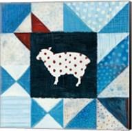 Modern Americana Farm Quilt VI Fine-Art Print